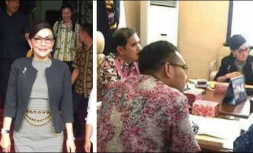 Harapkan Penyelesaian BDP, Bupati TETTY PARUNTU Temui Capt. ARIFIN SUNARJO