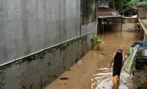 Rumah Legislator Minahasa di Wanea Kebanjiran Lagi