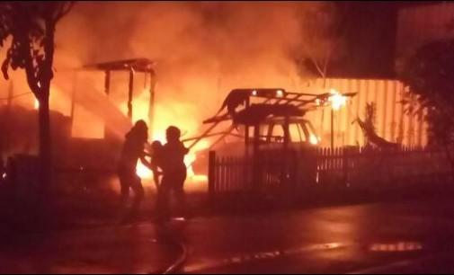 Jago Merah Beraksi di Tomohon, Mobil dan Rumah Habis Terbakar