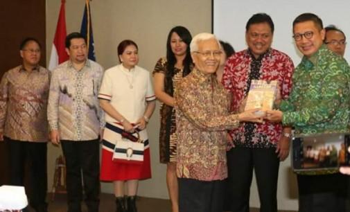 MOR BASTIAN Wakili VICKY LUMENTUT di Launching Sulut Tuan Rumah Paskah Nasional
