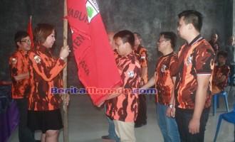 Michael Korompis Dilantik Ketua Pemuda Pancasila Langowan Barat