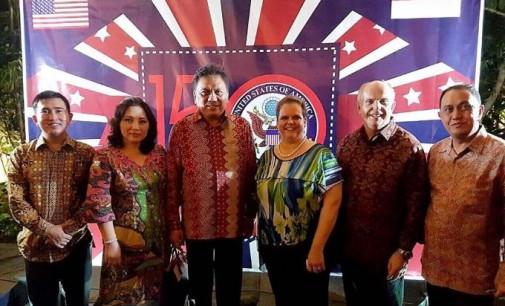 Diundang Dubes AS, OLLY DONDOKAMBEY Promosikan Wisata Sulut