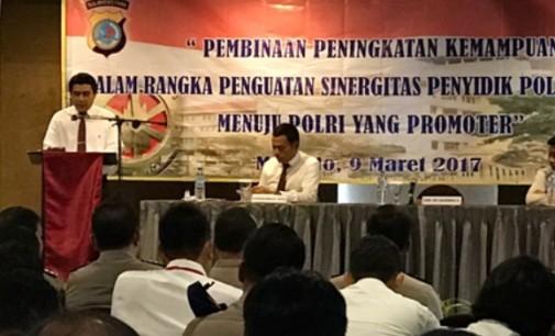 Bangun Sinergitas Penyidik Polri dan PPNS se-Sulawesi Utara