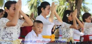 Rangkaian Peringatan Hari Raya Nyepi; Besok Umat Hindu di Manado Gelar Festival Ogoh-ogoh
