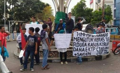 Lumpuhkan Pusat Kota, HMI MPO Sampaikan Tuntutan Ini
