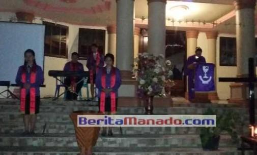 Berita Foto: Jemaat GMIM Pniel Sulu Gelar Malam Getsemani, Menghayati Pengorbanan Kristus