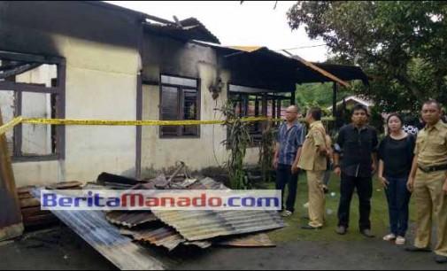 Prihatin !!! Satu Nyawa Melayang di Kebakaran Desa Pinaling