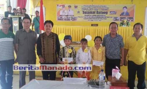 Alifika Pangkey Jawara Lomba Bercerita SD/MI se-Minsel