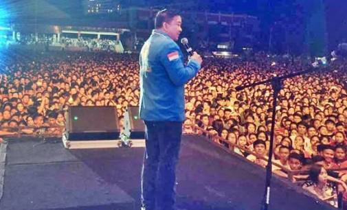 Konser Paskah Nasional Sukses, JACKSON KUMAAT: Terima Kasih Masyarakat Sulut