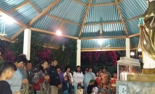 Jelang Pilhut, JERRY WANGKO Berdoa di Biara SMSJ Kawatak