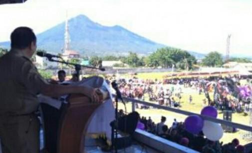 Walikota Bicara NKRI di Selebrasi Paskah Pemuda dan HUT Pemuda GMIM