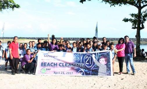 Earth Day Mercure Manado Tateli Beach Resort