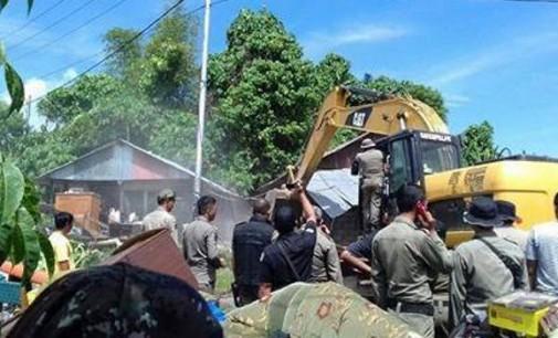 Akan Dibangun RSUD Manado, 13 Rumah Dibongkar