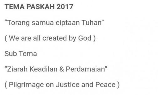 Duh !!! REINER OINTOE Sebut Sub Tema Paskah 2017 Tidak Relevan Dengan Tema Torang Samua Ciptaan Tuhan