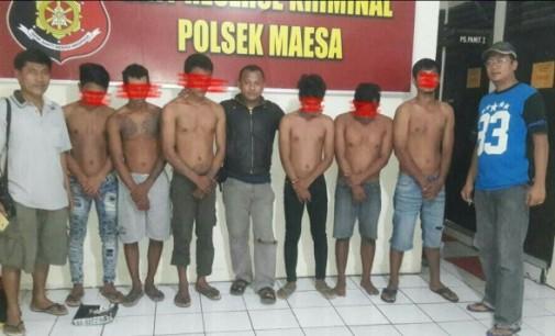 Polsek Maesa Gulung Komplotan Pembobol Mini Market