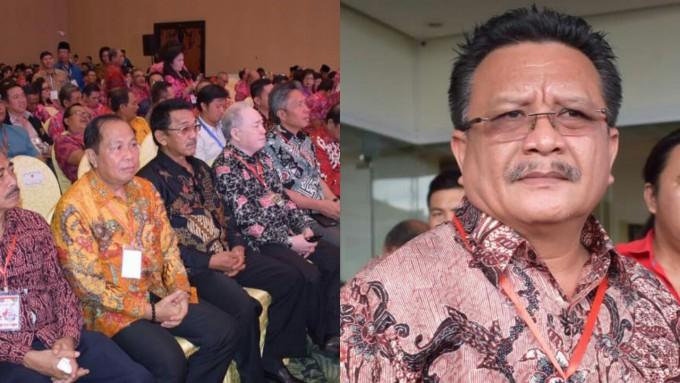 Walikota dan Wawali ketika menghadiri