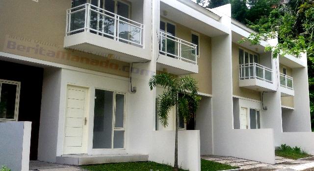 Salah satu model rumah di Dendengan Residence