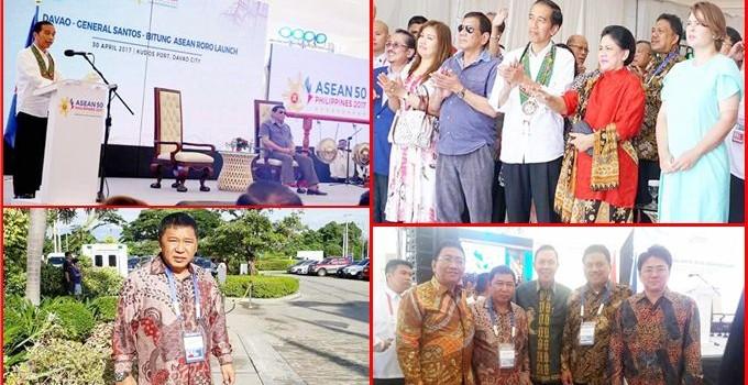 Diundang Khusus Presiden, Bupati James Sumendap Hadiri KTT ASEAN ke-30 di Manila
