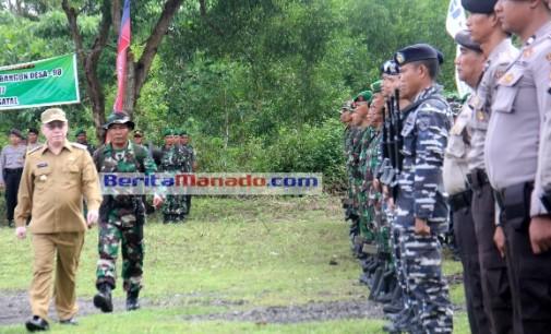 JOHN PALANDUNG Buka TMMD ke-98 di Tahuna, Ini Permintaannya Kepada TNI