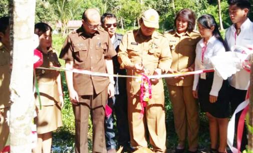 AsistenII Robby Ngongoloy Resmikan Green Garden V2GENCS Community Suhuyon