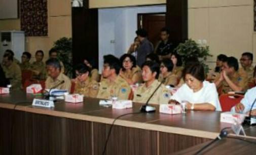 Sekda Bitung Hadiri Kunker Komisi VII DPR RI ke Sulut