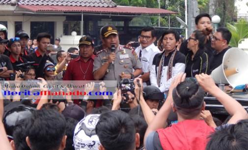 BAMBANG WASKITO Sebut Aksi Demo di Manado Akan Disampaikan ke Presiden