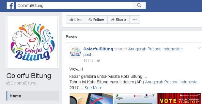 Fanpage Colorful Bitung