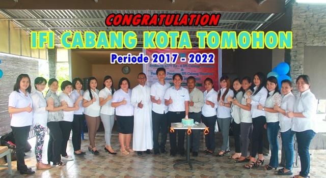 Pengurus Ikatan Fisioterapi Indonesi (IFI) Cabang Kota Tomohon