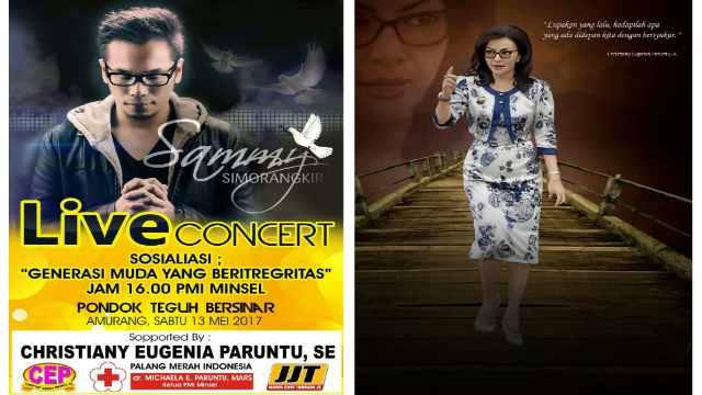 Konser Rohani Sammy Simorangkir