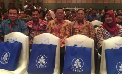 Sekdakab Minsel Danny Rindengan Hadiri Rakornas Kepegawaian Tahun 2017