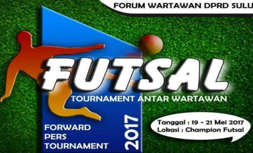 Hasil Undian Futsal Turnamen Wartawan 2017