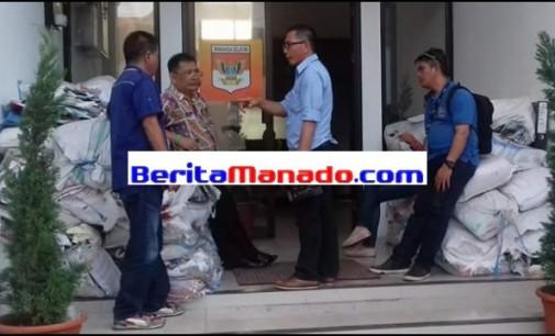 Sejumlah Media Televisi Liput Kunjungan KPK di Minsel