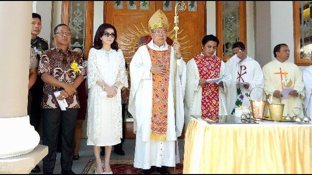Peresmian Gereja Katolik