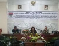 Ranperda RPJMD Minsel Disepakati Pimpinan Eksekutif dan Legislatif