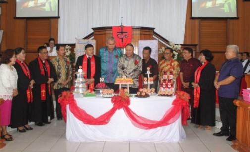 Jemaat GMIM Kanaan Asabri Rayakan HUT ke-24