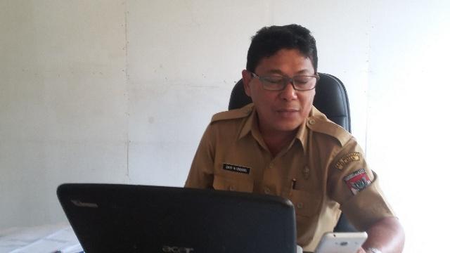 Kabag Perekonomian Minsel, Drs Dayf Ondang