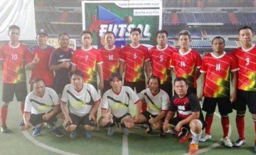 Hebat, JIPS 2 Bantai JMT B di Turnamen Futsal Antar Wartawan
