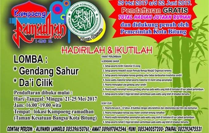 Kampoeng Ramadhan BKPRMI Kota Bitung