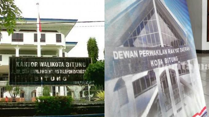 Kantor Walikota dan DPRD Kota Bitung