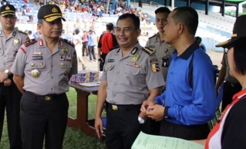 Tim SSDM Polri Pantau Pelaksanaan Tes Kesamaptaan Jasmani