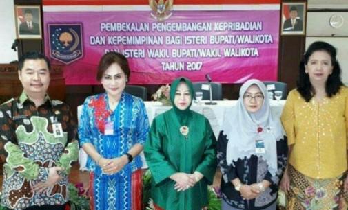 Khouni Katakan ini saat Ikuti Pembekalan Isteri Kepala Daerah se-Indonesia
