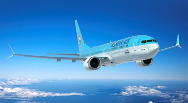 Salah satu jenis pesawat dari Maskapai Korean Air
