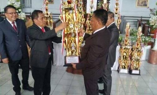 Dinas Perdagangan dan Kecamatan Kawangkoan Jawara Lomba Ornamen Paskah