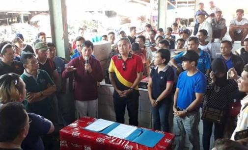 Walikota GSVL Harap Aktifitas Jual Beli Berjalan Lancar