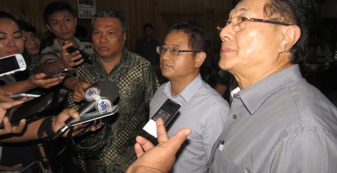 Pemilik PT CONCH ketika hearing bersama Komisi 3 DPRD Sulut, beberapa waktu lalu