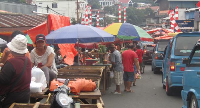 Pemkot Manado fokus melakukan rehabilitasi maupun pembangunan pasar-pasar tradisional