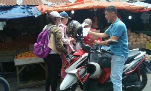 Disperindag Sebut yang Lakukan Pendataan di Pasar Girian adalah THL