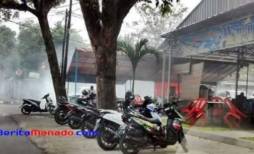 Kendaraan Parkir di Trotoar, Dishub Manado Akan Tindaki Pemilik RM Afisha