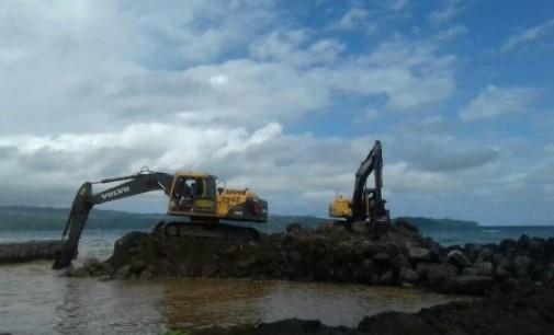 Ada Proyek Timbun Pantai di Wangurer, Diduga Tanpa Amdal