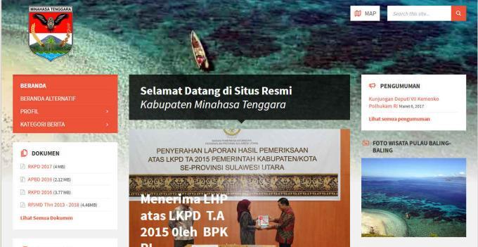 Website Pemkab Mitra